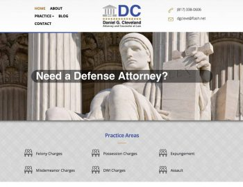 tx lawyer website
