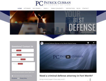 web design criminal defense attorney
