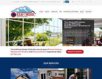 web design roof replacement