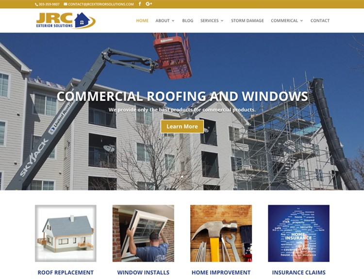 web design window contractor